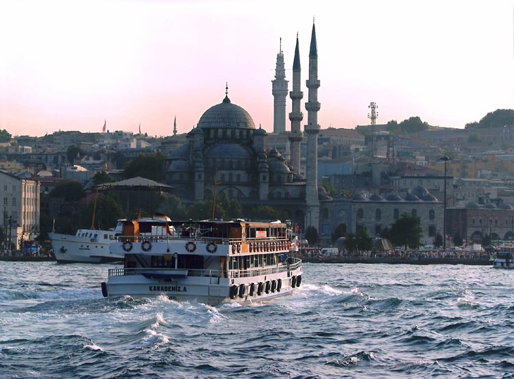 Bósforo en Estambul