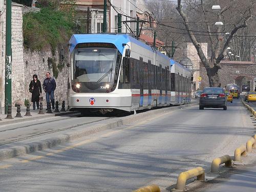 Tranvías en Estambul